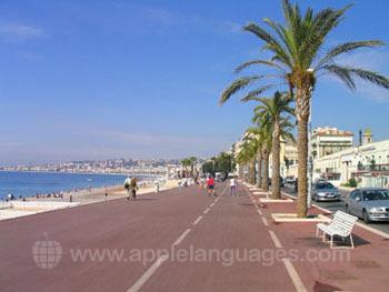 L'esplanade, Nice
