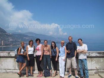 Des étudiants en excursions à Monaco