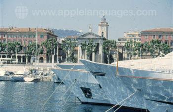 La marina à Nice