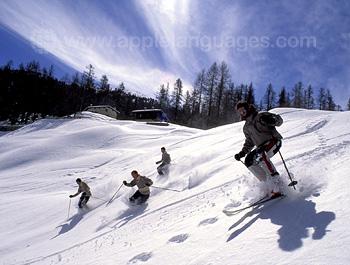 Kitzbühel est génial pour le ski !