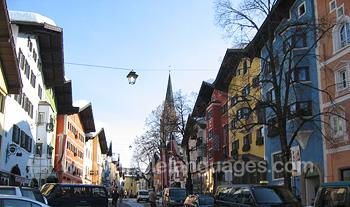 Kitzbühel est une belle ville
