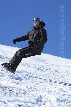 Cours pour les moniteurs de snowboard