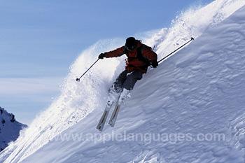 Cours pour les moniteurs de ski