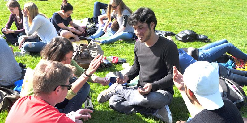 Pique-nique au parc