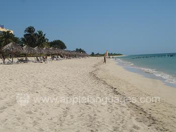 La plage à Trinidad