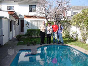 Famille d'accueil chilienne à Santiago