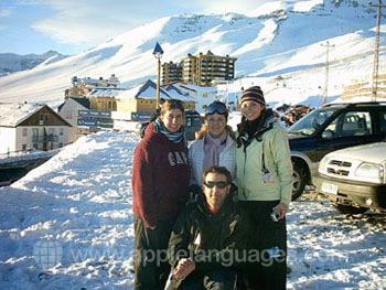 S'amuser à ski ensemble !