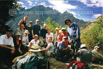 Excursion dans les Andes
