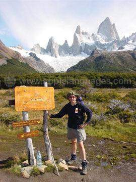 Montagnes et glaciers au Chili