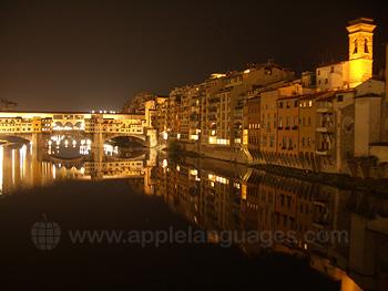 Le Ponte Vecchio de nuit !