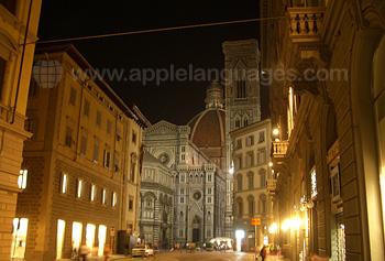 Vue de la Cathédrale de Santa Maria del Fiore, connue sous le nom de Duomo