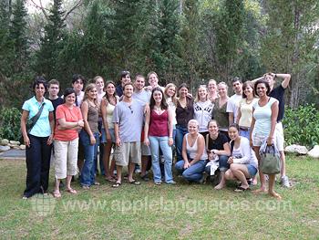 Des étudiants en excursion dans Florence