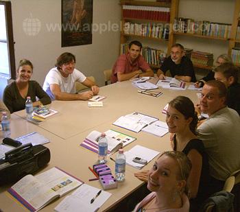 Cours d'italien dans notre école de Florence