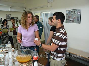 Cocktail de bienvenue dans notre école