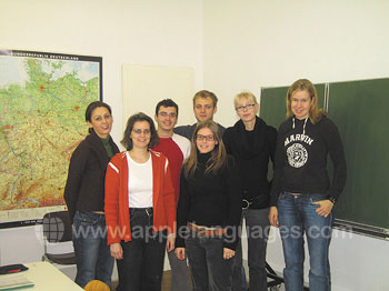 Cours d'allemand dans notre école