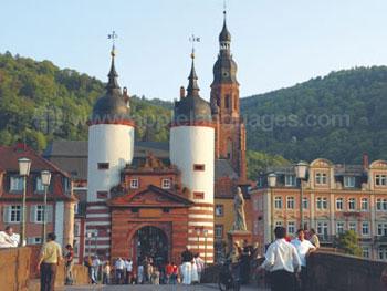 Architecture spectaculaire d'Heidelberg
