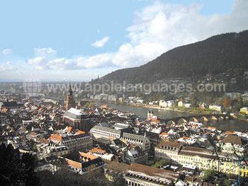 Vue d'Heidelberg