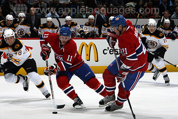 L'équipe de hockey des Canadiens