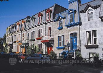 Maisons typiques, Montréal