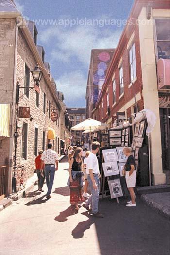 Vieille ville de Montréal