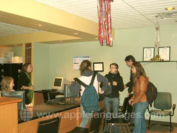 Réception de l'école, Montréal