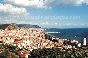 Vue panoramique de Salerno