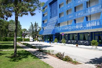 La résidence étudiante sur le campus