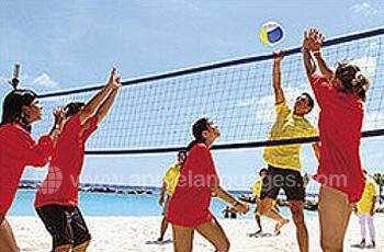 Volley-ball à la plage