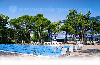 La piscine de notre école