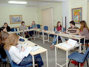 Cours d'arabe dans notre école du Caire