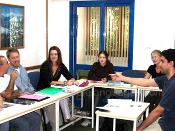 Apprendre l'arabe en groupe