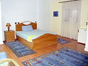 Chambre double dans la résidence