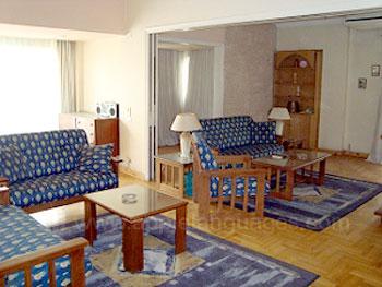 Salon dans la résidence