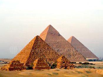 Les célèbres Pyramides