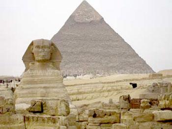 Le Sphinx et les Pyramides de Gizeh