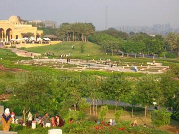 Parc Al Azhar du Caire