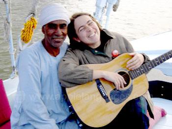 Jouer de la musique avec les autochtones