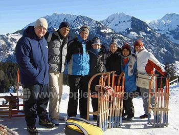 Excursion à ski