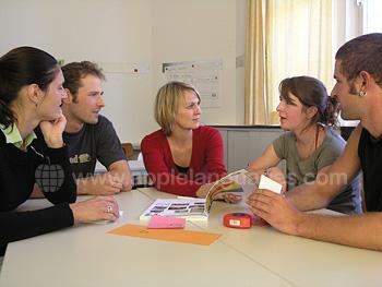 Des petites groupes dans notre école de Lindau