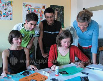 Des étudiants en cours