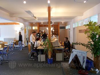 Le cybercafé de l'école à Lindau