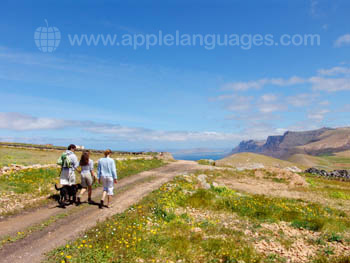 Randonnée à Lanzarote
