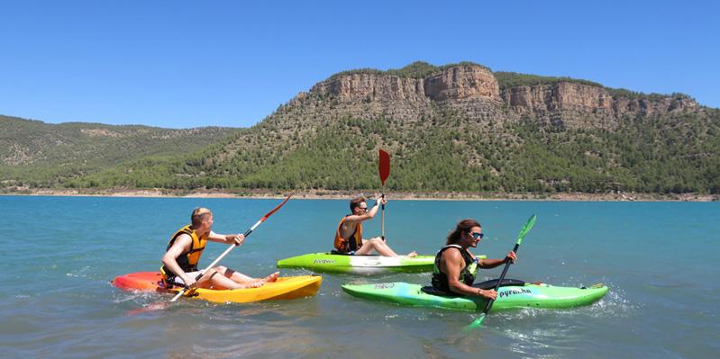 Sortie en kayak