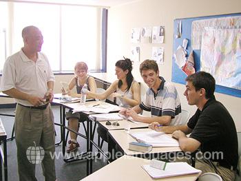 Cours de chinois dans notre école de Qingdao
