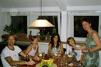 Famille d'accueil allemande