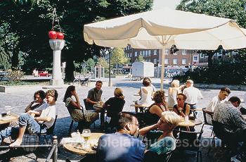 Un café à Münster