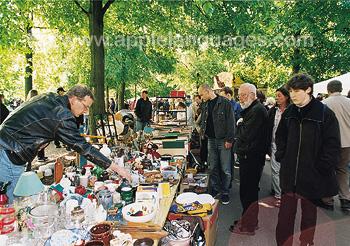 Un marché à Münster