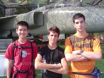 Des étudiants à la découverte de Pékin
