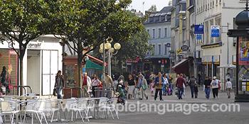 Le centre-ville de Rouen