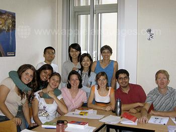 Des étudiants dans notre école